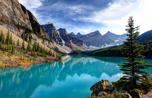 Moraine Lake - photo by  Zachary B