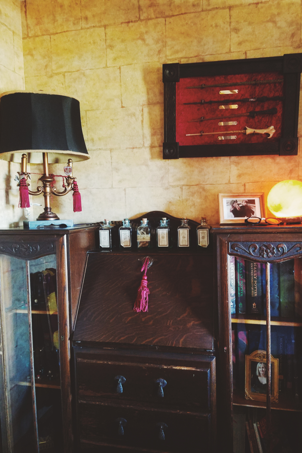 J. K. Rowling room - the closest to Hogwarts I'll ever get!