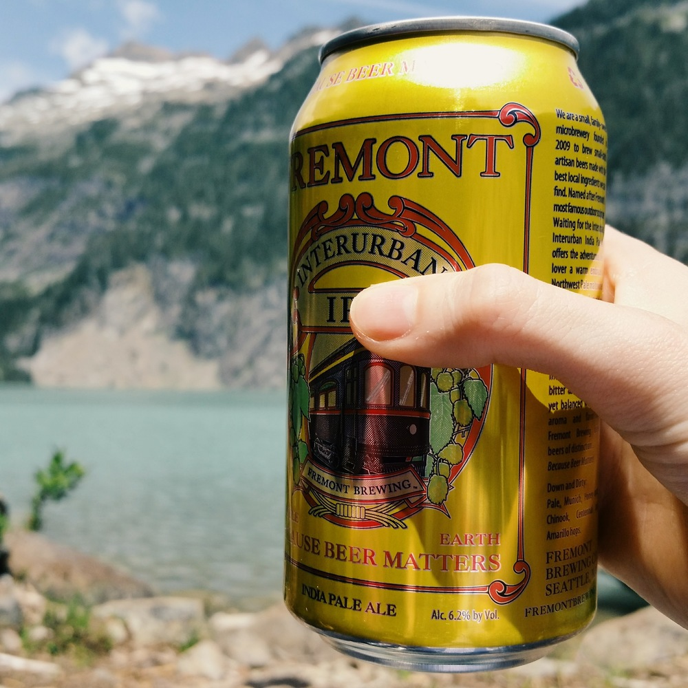 Fremont IPA - totally worth carrying up to Blanca Lake!