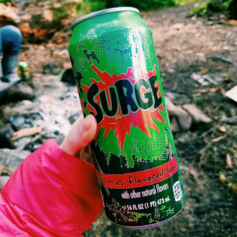 Surge! I haven't had this stuff since I was a kid!
