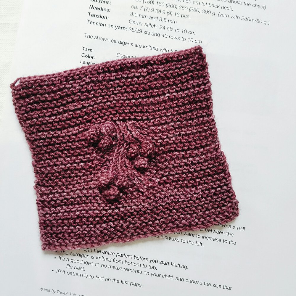 Lovely little detail from a knitting project I just started