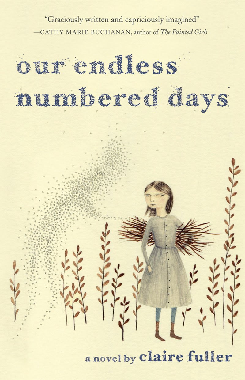 Our Endless Numbered Days by Claire Fuller - Peggy Hillcoat is eight years old when her survivalist father, James, takes her from their home in London to a remote hut in the woods and tells her that the rest of the world has been destroyed. Deep in the wilderness, Peggy and James make a life for themselves. They repair the hut, bathe in water from the river, hunt and gather food in the summers and almost starve in the harsh winters. They mark their days only by the sun and the seasons. When Peggy finds a pair of boots in the forest and begins a search for their owner, she unwittingly begins to unravel the series of events that brought her to the woods and, in doing so, discovers the strength she needs to go back to the home and mother she thought she'd lost. After Peggy's return to civilization, her mother learns the truth of her escape, of what happened to James on the last night out in the woods, and of the secret that Peggy has carried with her ever since. (From Goodreads)
