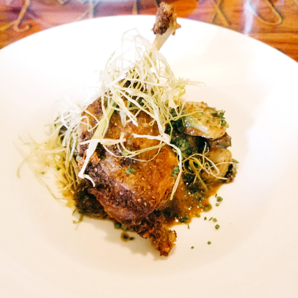 The  best  duck confit for a post-opera dinner