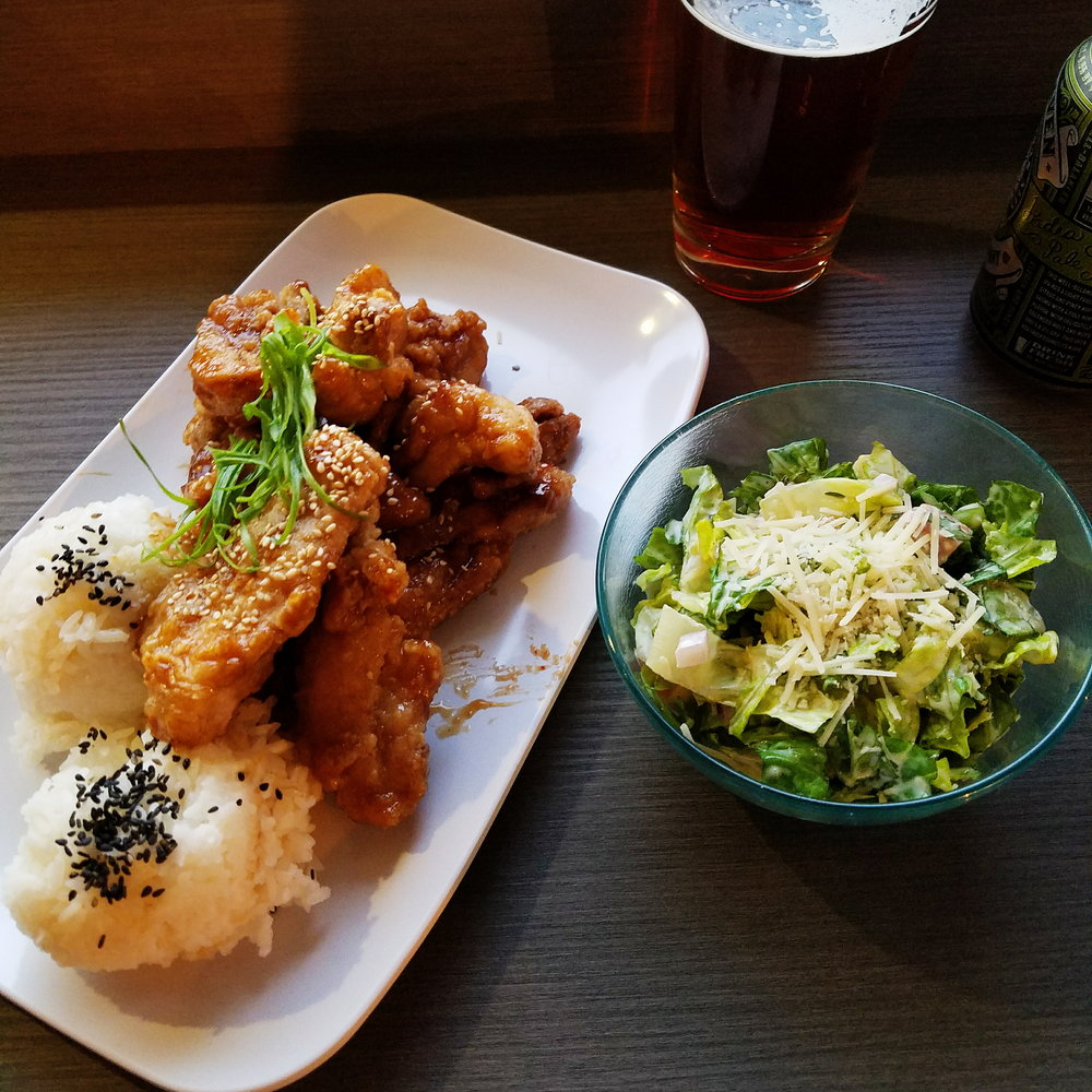 One of my favorite food trucks opened a new restaurant in Kirkland, and their Chicken Karaage was just as good as I remembered!
