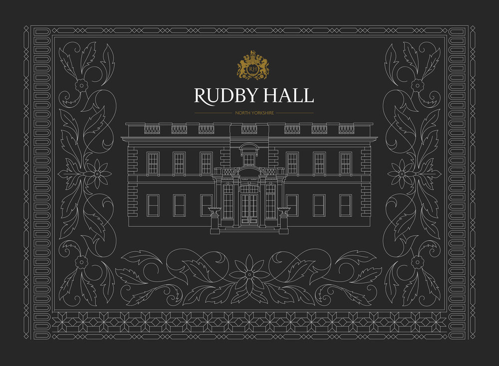 Rudby Hall Illustration