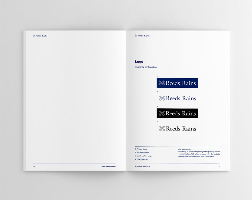 Reeds Rains Brand Identity Guidelines