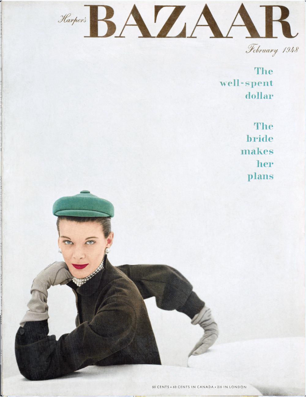 Harper's Bazaar, February 1948