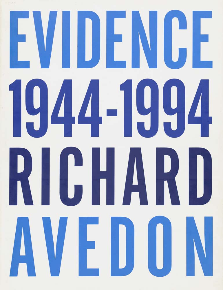 Evidence (1994) essays by Jane Livingston and Adam Gopnik