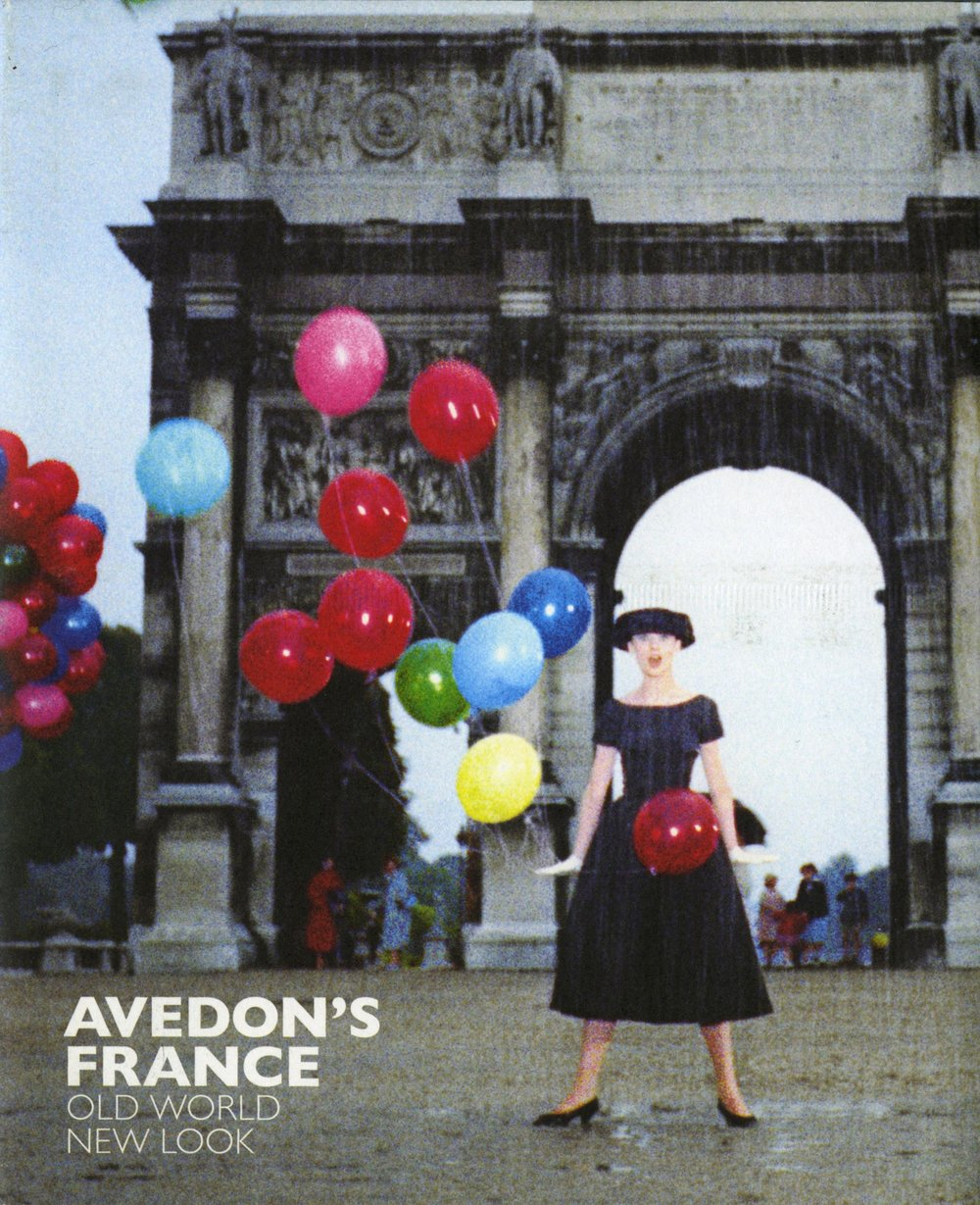 Avedon's France, Old World, New Look (2016), essays by Bob Rubin and Marianne Le Galliard
