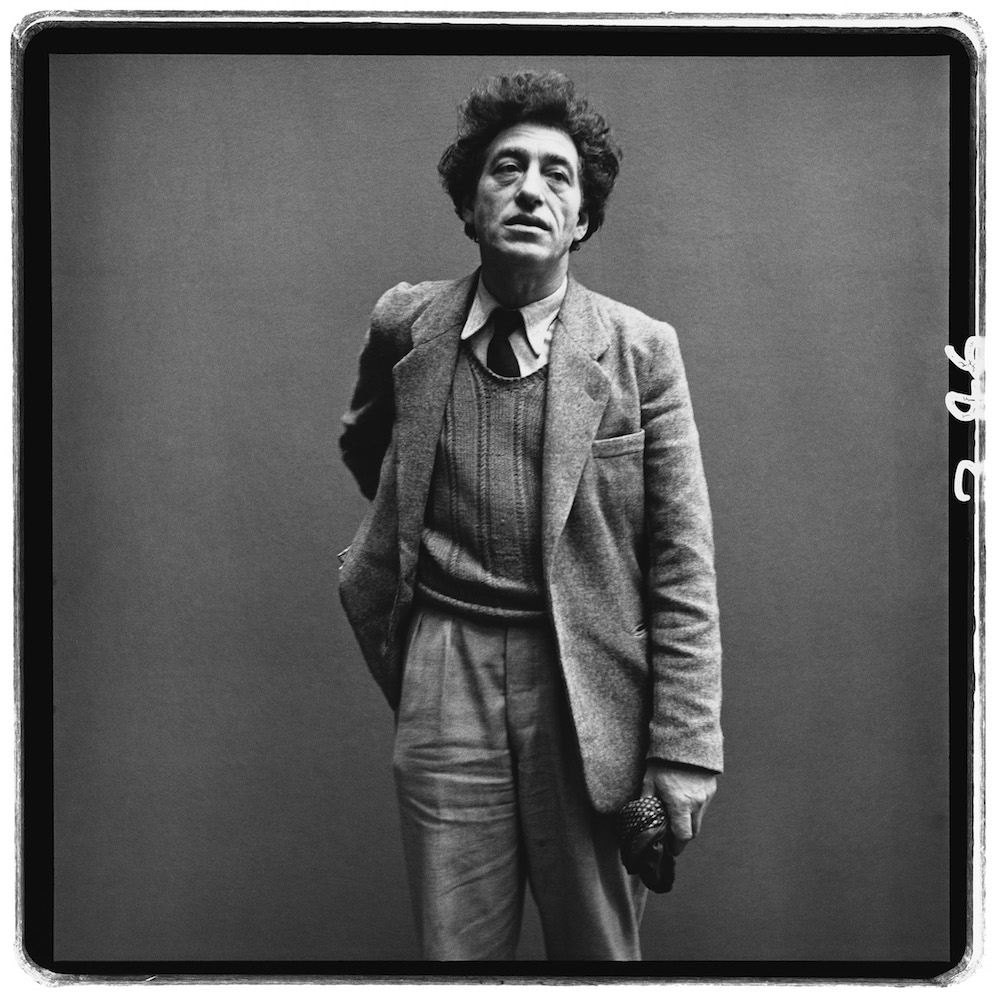 Alberto Giacometti, sculptor, Paris, March 6, 1958