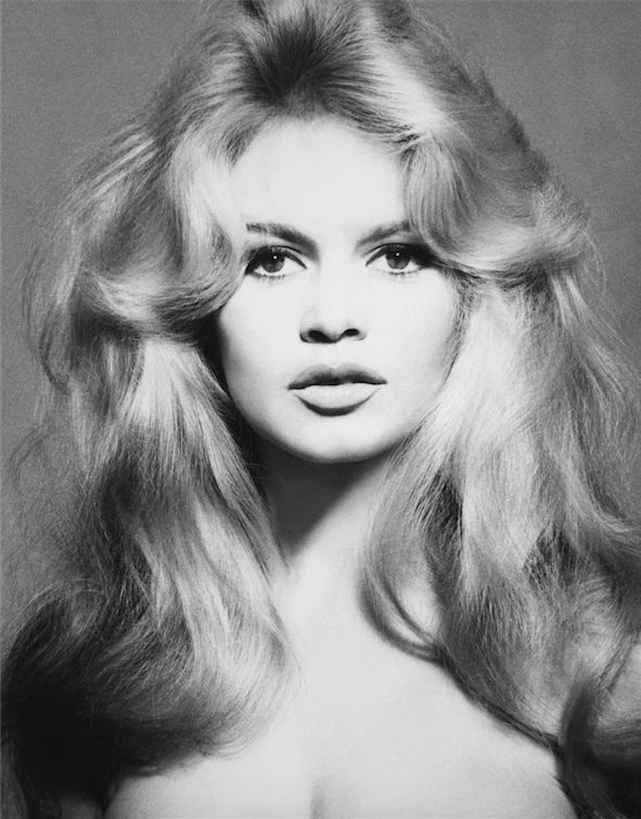 Brigitte Bardot, hair by Alexandre, Paris, January 27, 1959