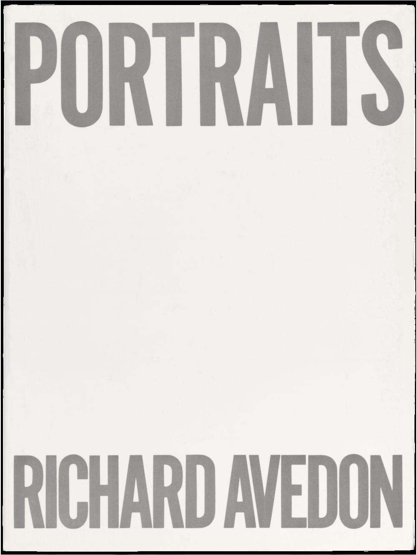 Portraits(1976), essay by Harold Rosenberg
