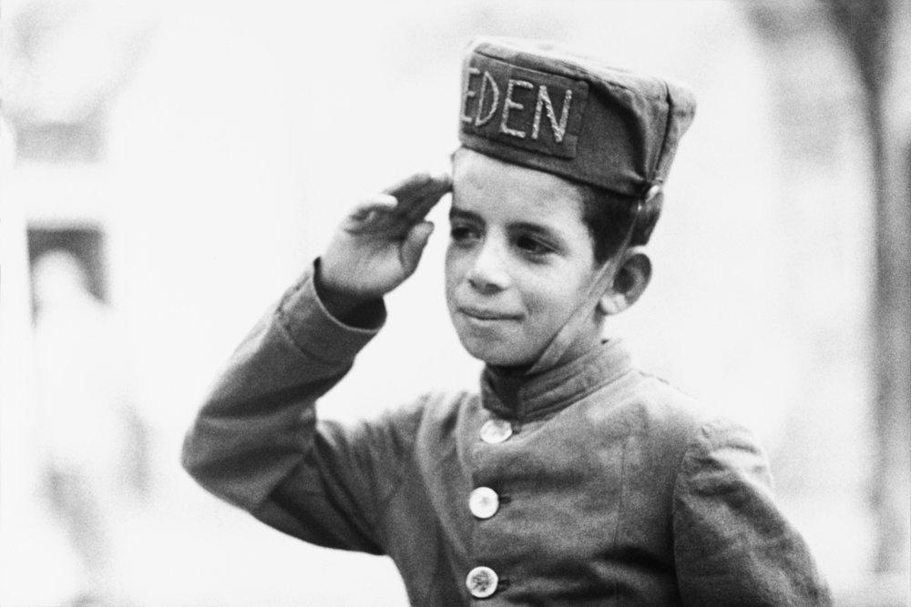 Italy #10, bellboy, Eden Rock Hotel, Taormina,  Sicily, 1947