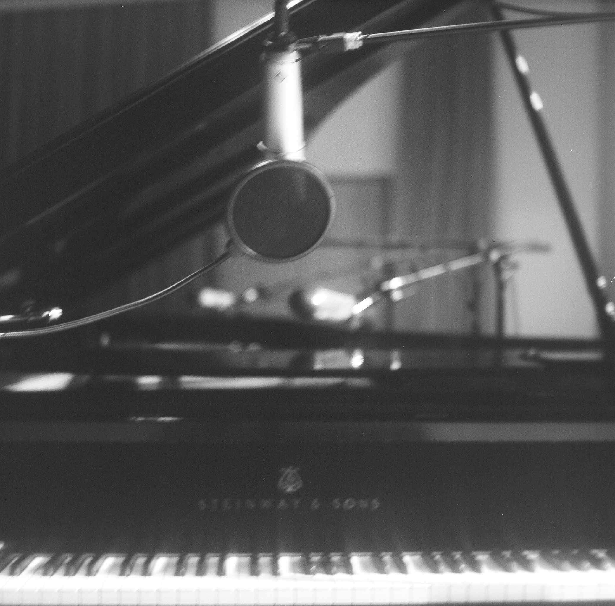 The gorgeous Steinway Grand I was honoured to play.