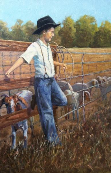 """""""The Goat Roper"""""""