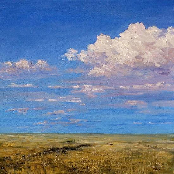 """September Sky - Flint Hills, Kansas"""