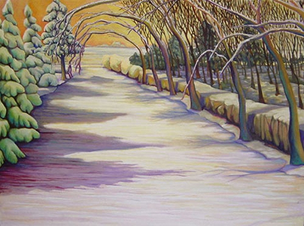 """Winter Driveway"""