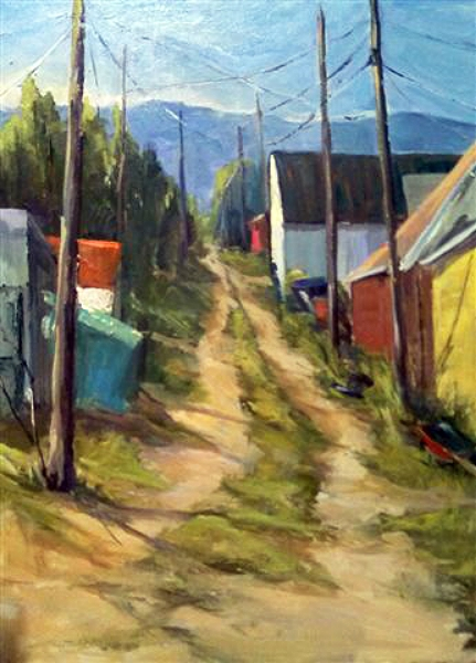 """Back Alley - Leadville, Colorado"""