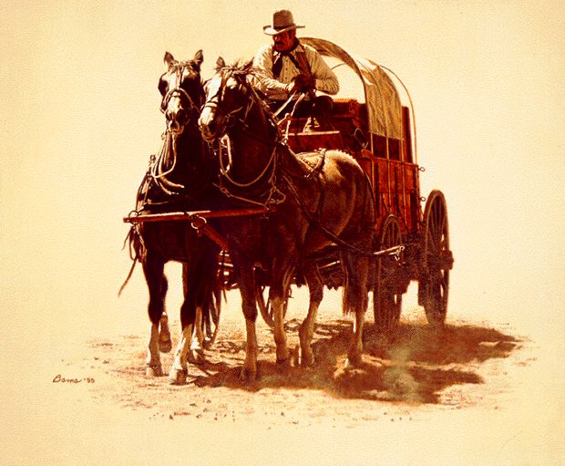 "James Bama - ""Chuckwagon"""