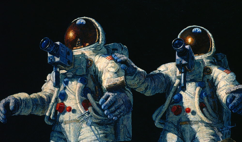 "Alan Bean - ""Heavenly Reflections"""
