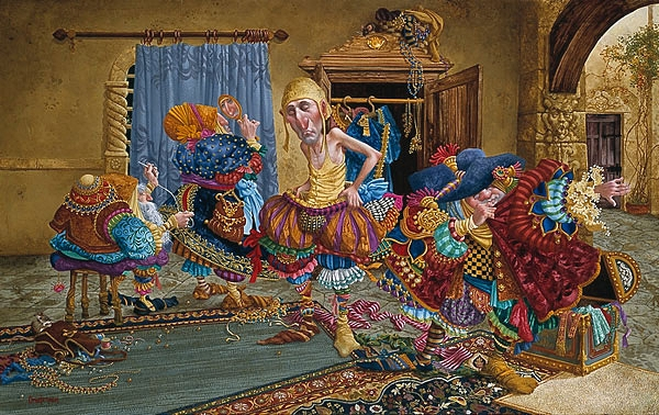 "James Christensen - ""Getting It Right"""
