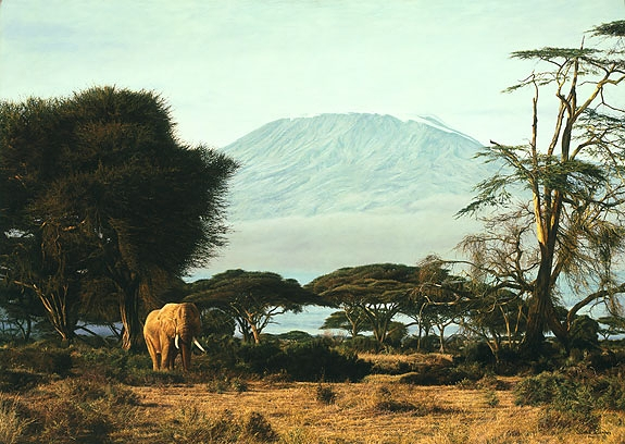 "Simon Combes - ""Kilimanjaro Morning"""