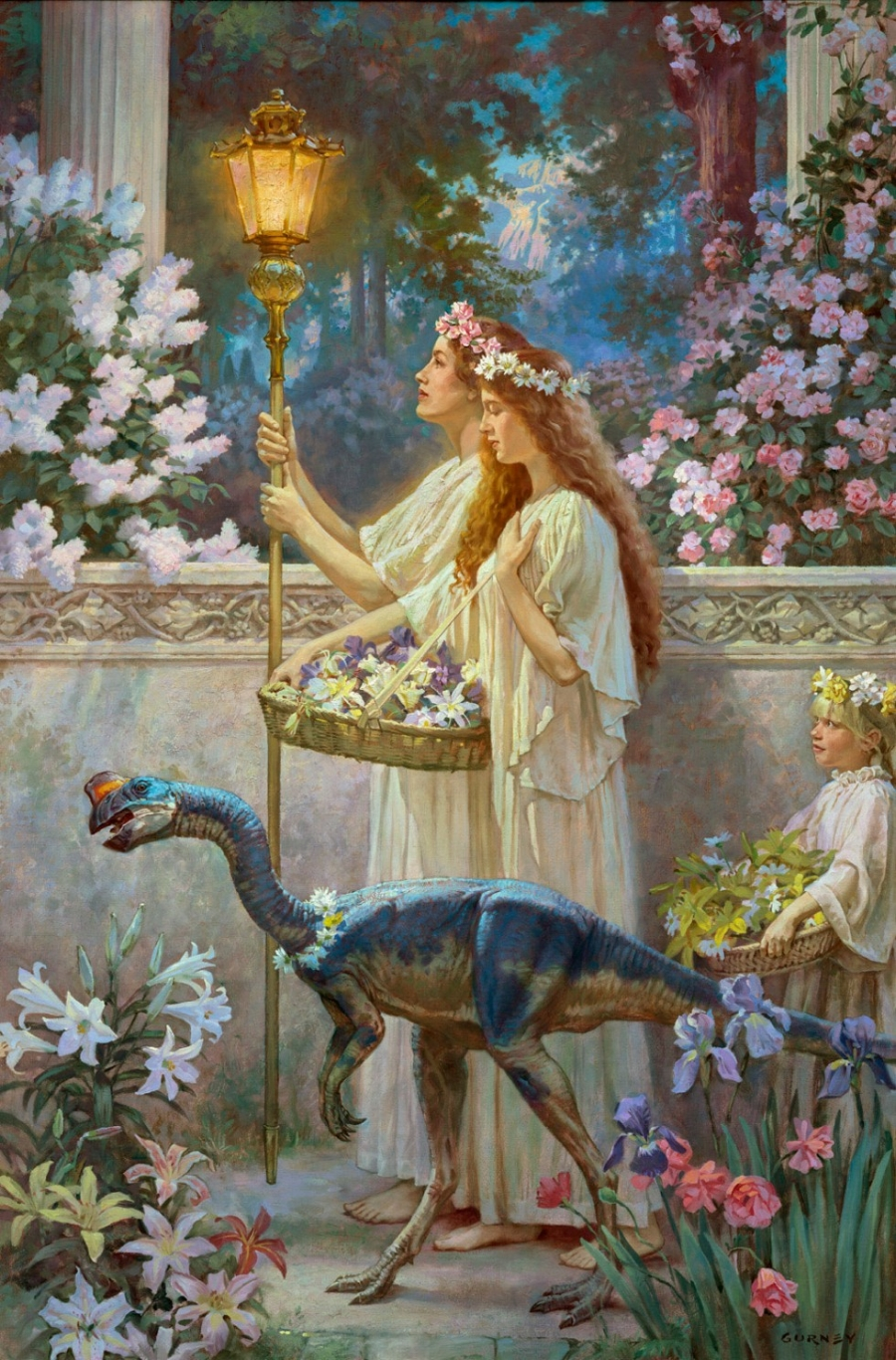 "James Gurney - ""Garden of Hope"""