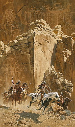 "Frank McCarthy - ""Beneath the Cliff of Spirits"""