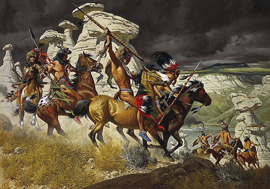 "Frank McCarthy - ""Out of the Windswept Ramparts"""