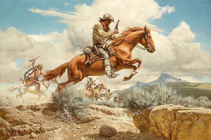 "Frank McCarthy - ""Pony Express"""