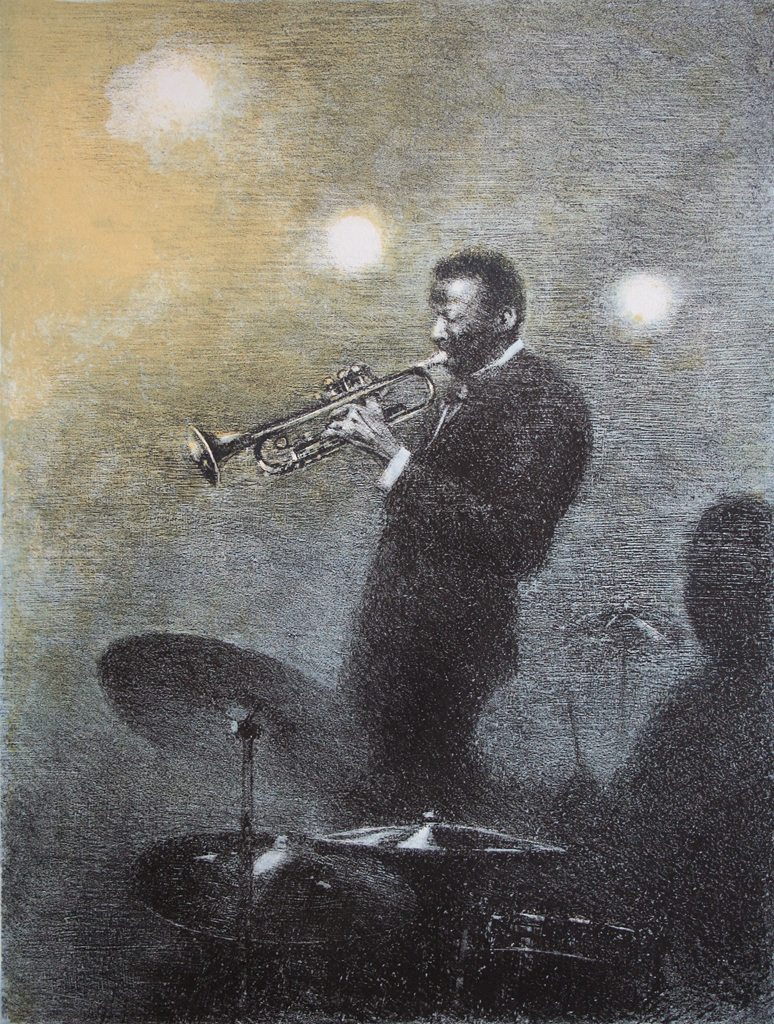 "Arthur Shilstone - ""The Trumpet Player"""