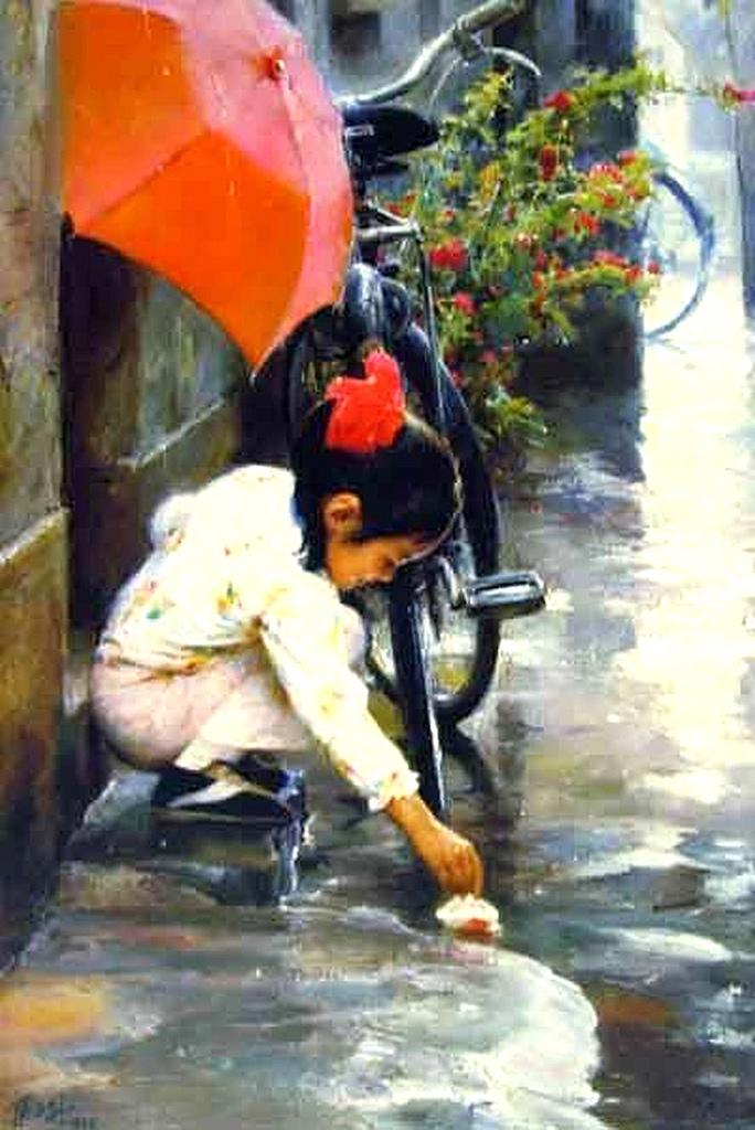 """Zhang Wenxin - """"Small Paper Boat"""""""