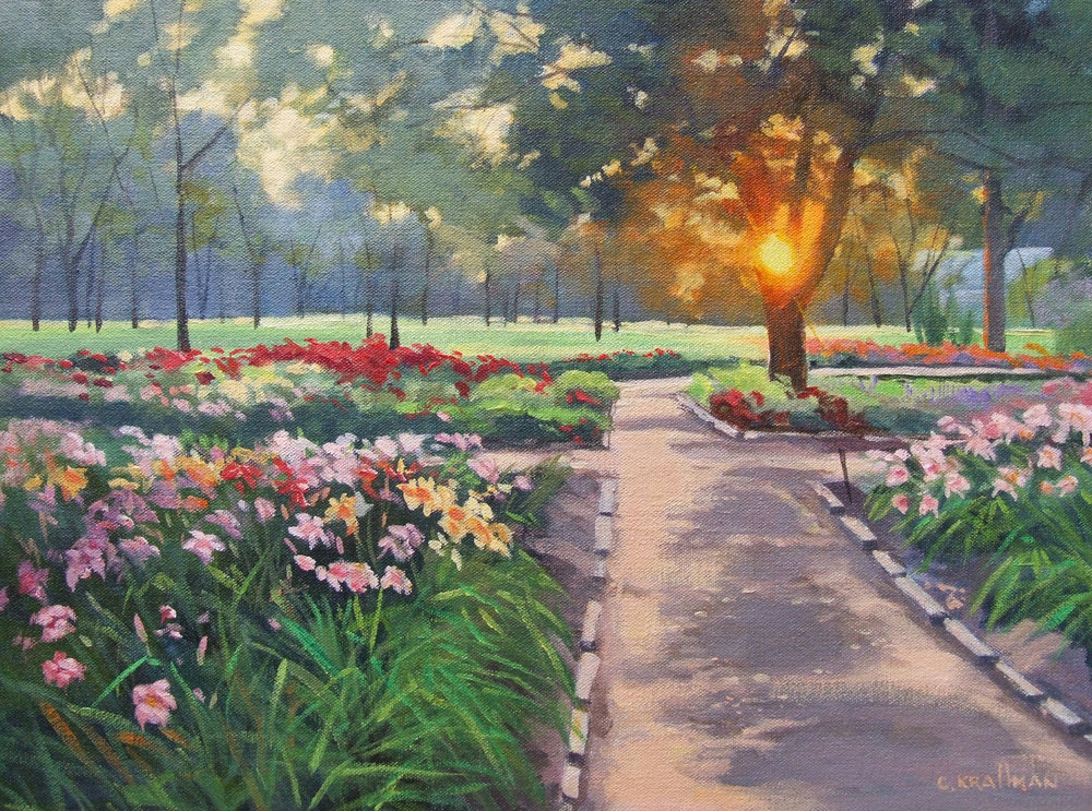 """Garden Sunset"""