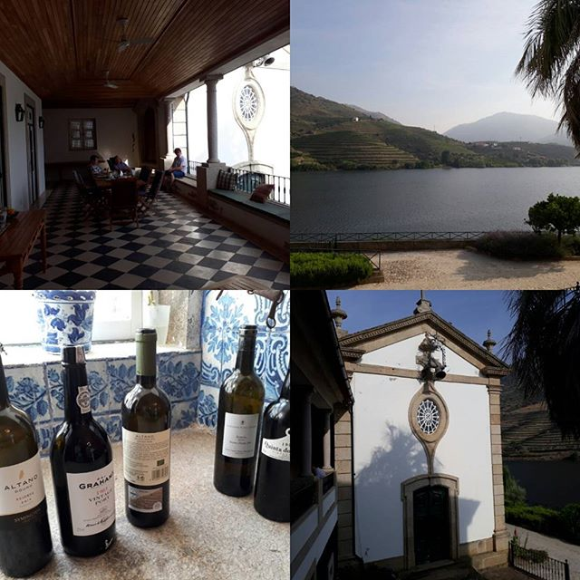 Great spot on the Duoro, at quinta do vesuvio overlooking dow's ribeira #port #wine very peaceful