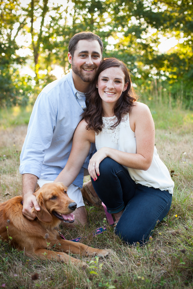 Engagement session with dog|JP Langlands Photography