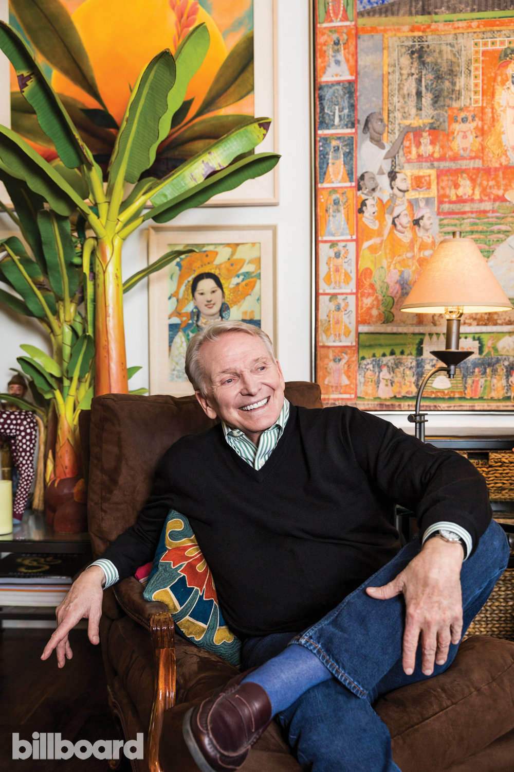 Emily Berl  Bob Mackie photographed Oct. 19 at home in Los Angeles.