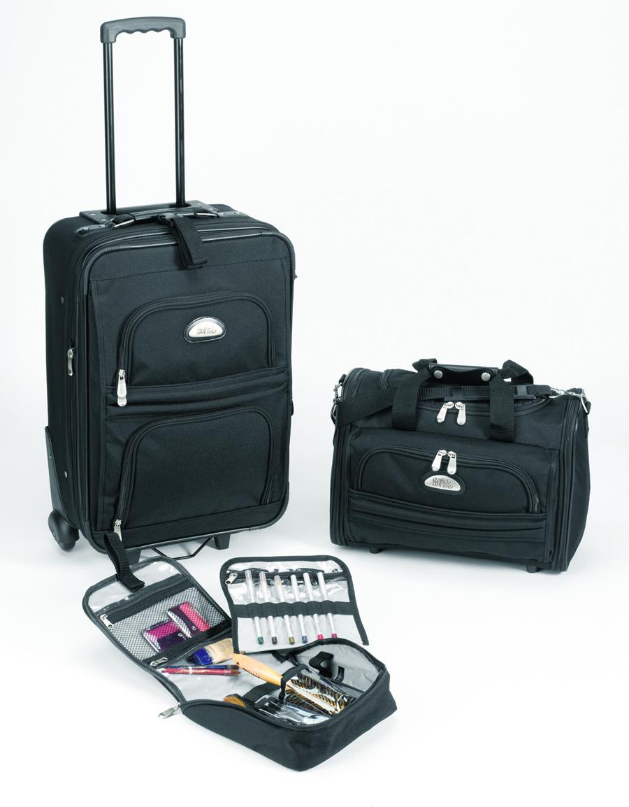 1fce8a202 Bob Mackie Expandable 3-Piece Luggage Set