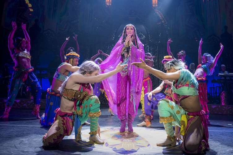 Cher returns to the stage in Las Vegas.