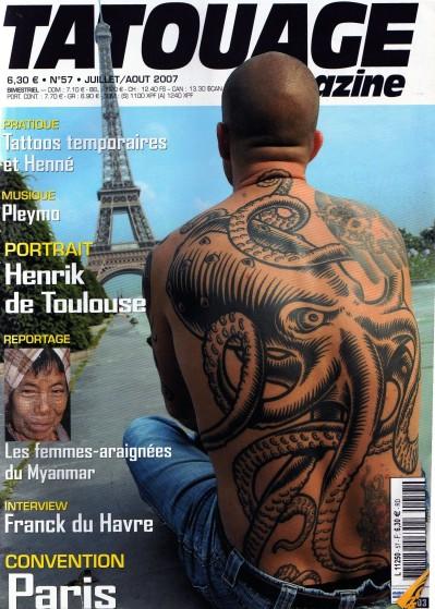 TATOUAGE Magazine 2007