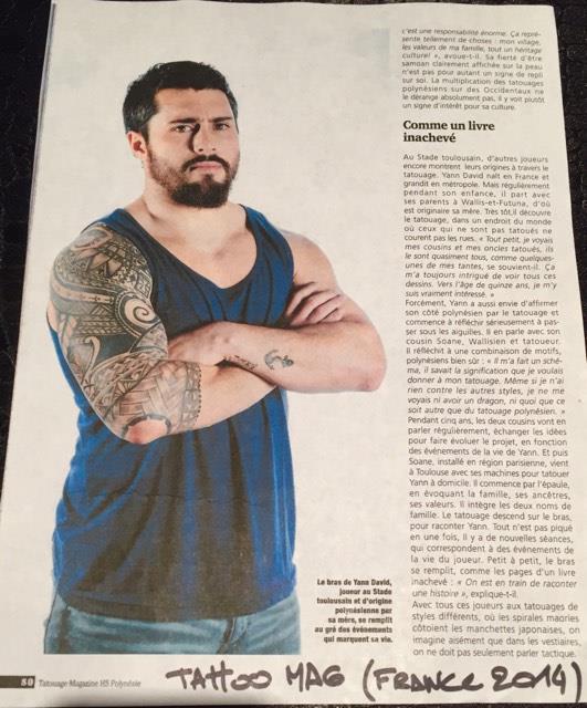 Tatouage magazine 2014