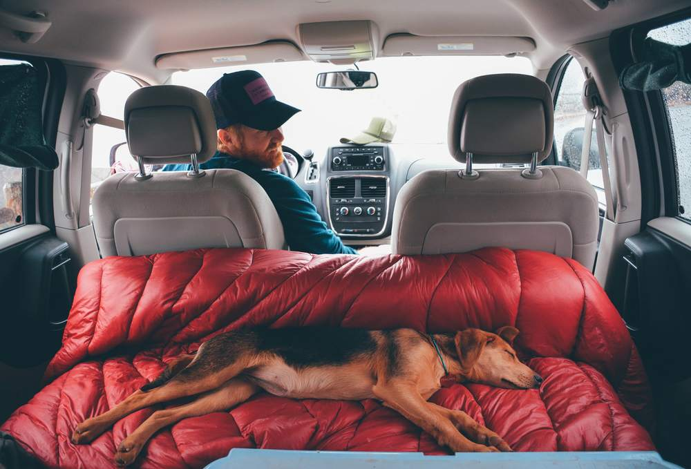 Custom Interior Build with Rumpl Blanket