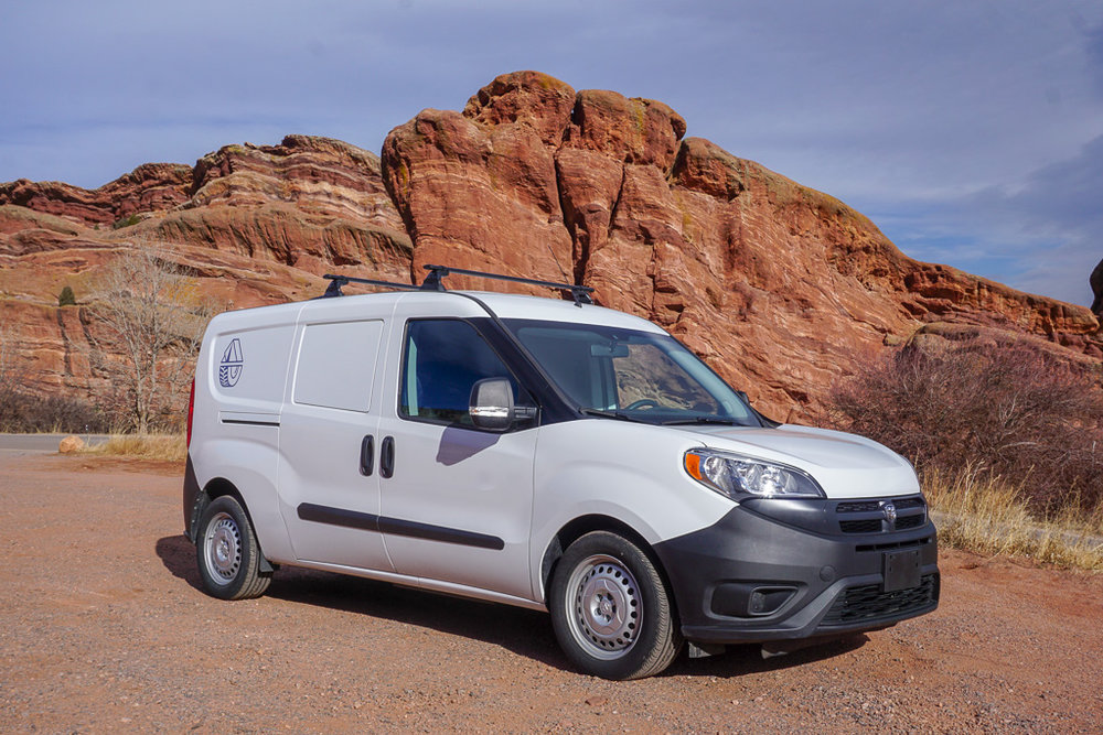 Smalls  2018 Ram ProMaster City Seats 2 | Sleeps 2  -
