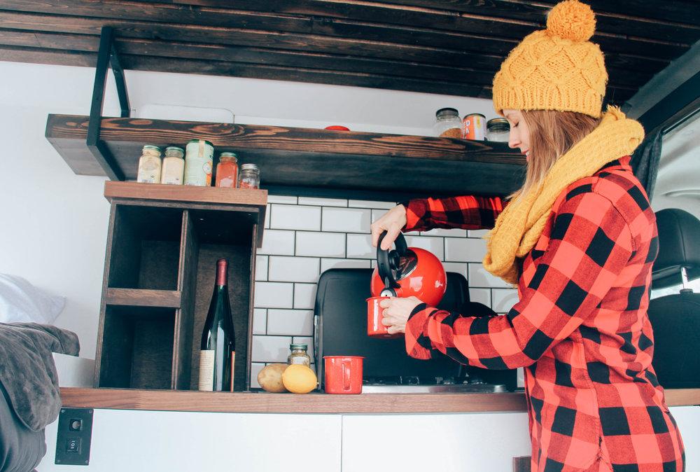 Kitchen is legit! -