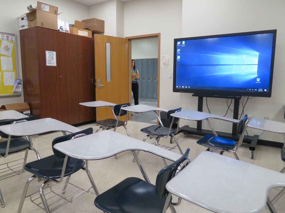 Baton Rouge High- Classroom 1
