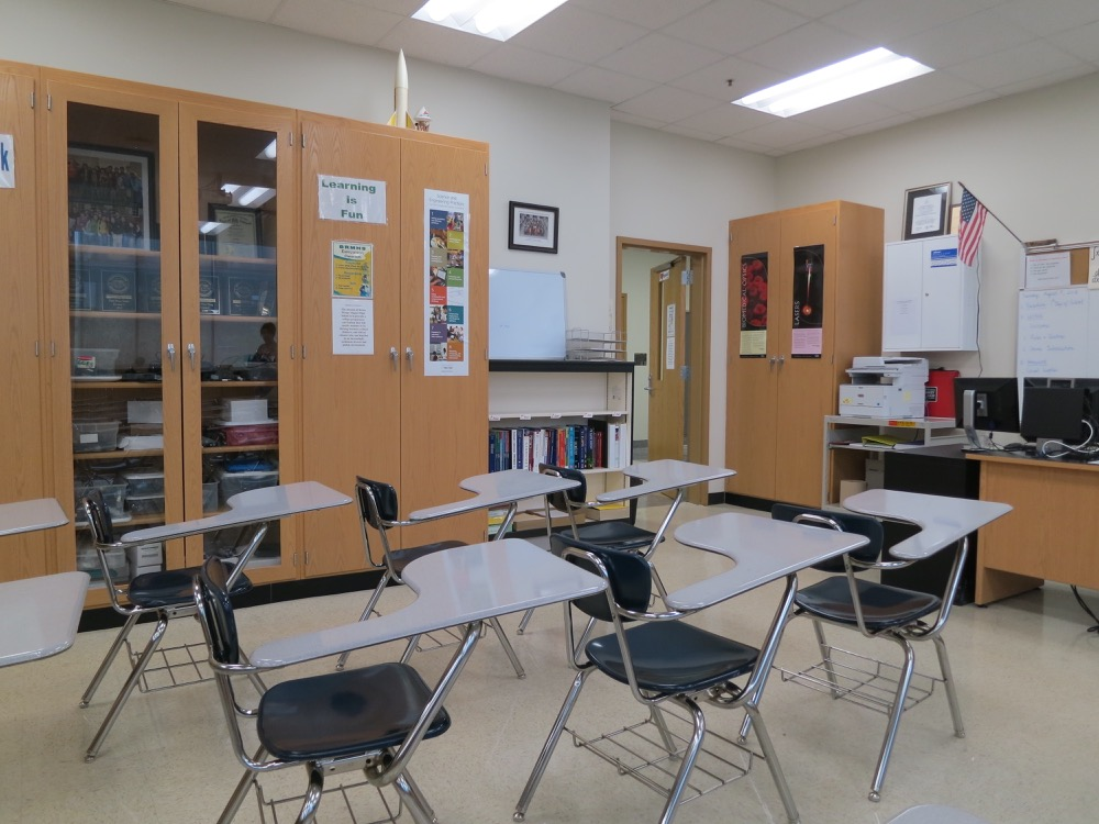 Baton Rouge High - Classroom 2