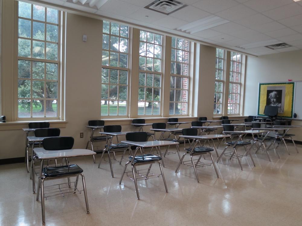 Baton Rouge High- Classroom 4