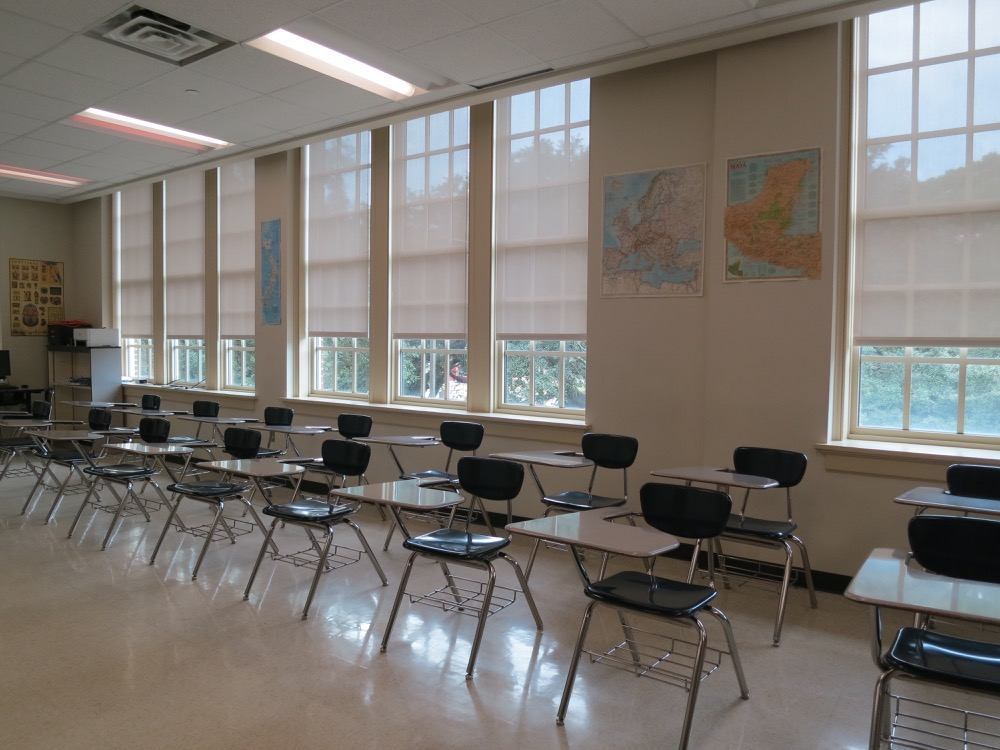 Baton Rouge High- Classroom 5
