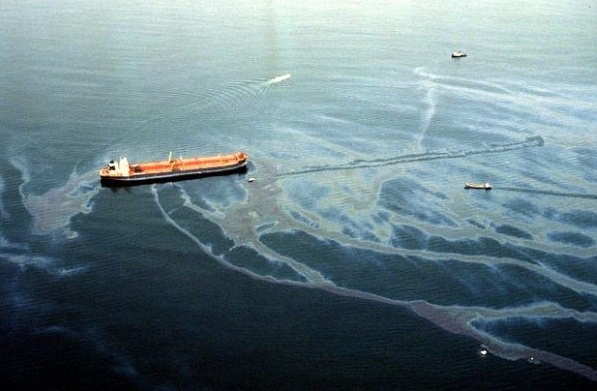 exxon Valdex oil spill, 1989.