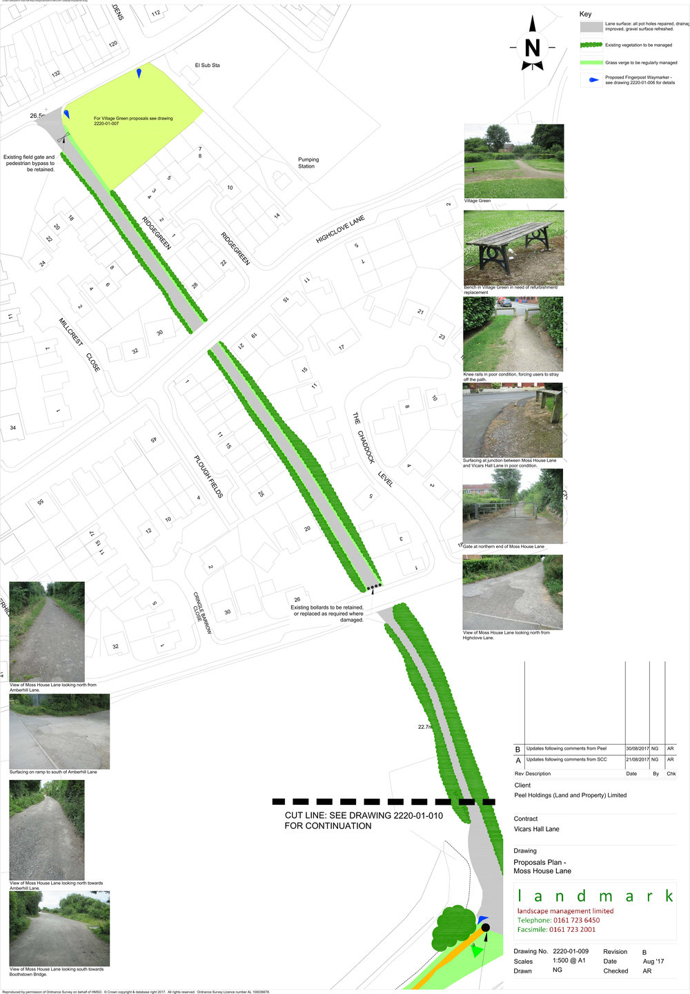 Moss House Lane Corridor Proposal