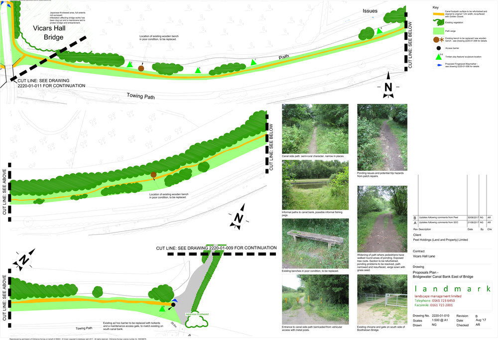 Canalside Path East Landscape Proposal